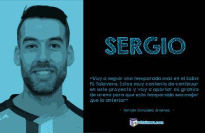SOLISS FS TALAVERA   Sergio renueva por una temporada más