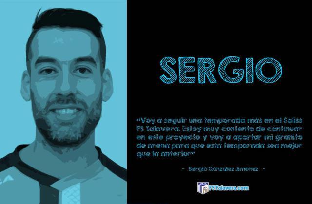 SOLISS FS TALAVERA | Sergio renueva por una temporada más
