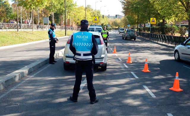 La Policía Local detiene en Talavera a un conductor por circular sin carnet