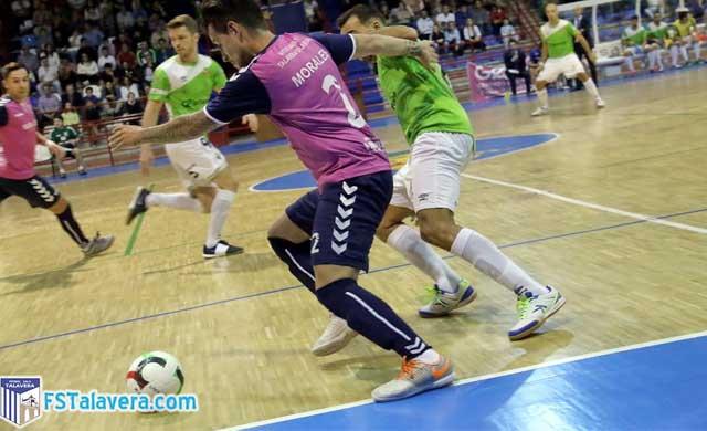 Soliss FS lucha hasta el final pero cae ante el Palma Futsal