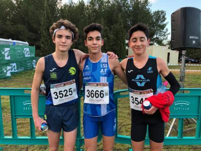Samuel Serrano, Sub-16 de UDAT, gana en Itálica