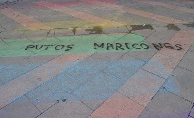 Talavera amanece con pintadas homófobas en la semana del Orgullo Gay
