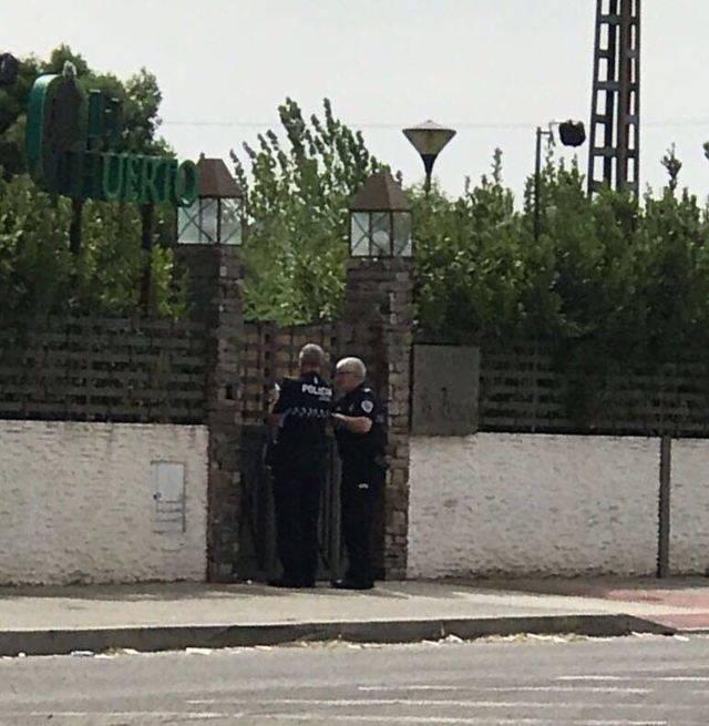No mentíamos. La Policía Local de Talavera precinta El Huerto
