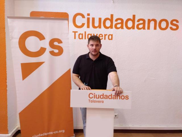 el portavoz de la formación naranja en Talavera, Carlos Alberto Martín