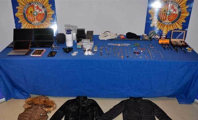 Cae un grupo delictivo que cometía robos violentos en domicilios de Talavera