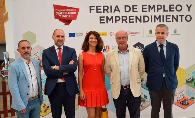 La II Feria del Empleo y el Emprendimiento de Talavera ha reunido a 1.200 jóvenes