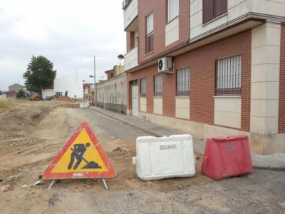 Imagen de archivo de las obras en la calle San Antonio de Patrocinio