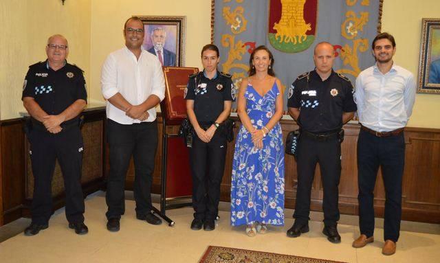 Talavera incrementa la seguridad ciudadana con la incorporación de doce nuevos agentes de la Policía Local