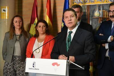 Page anuncia la aprobación del Proyecto de Ley de estímulo económico de zonas prioritarias, que incluye a Talavera
