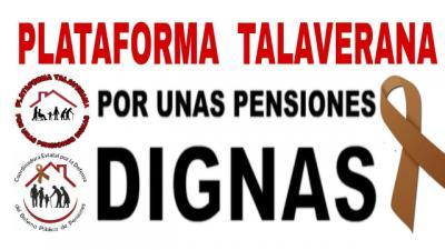 La Plataforma Talaverana por unas Pensiones Dignas invita a participar en la movilización del 5 de mayo