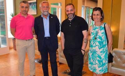 Ramos visita el nuevo espacio de peluquería y estética Garbo