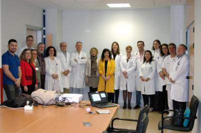 Neurología y Radiología se suman al estudio de realidad virtual para rehabilitar el ictus en el Hospital de Talavera