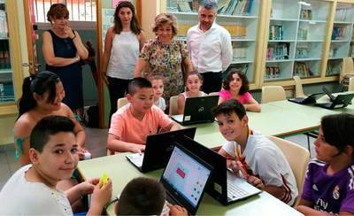 González Vilches pide a Page asegurar el mantenimiento de las aulas del Antonio Machado