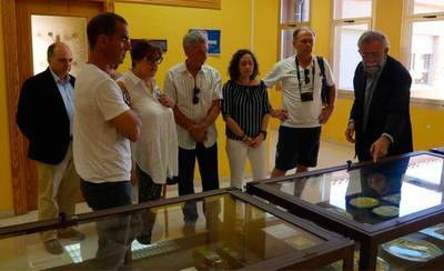 El Alcalde recibe a un grupo de profesores de Italia y Francia