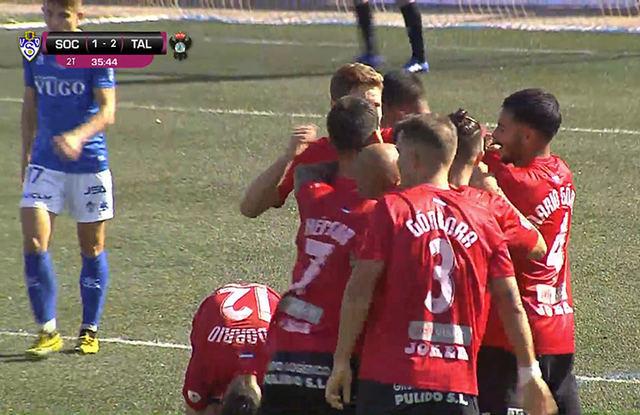 FÚTBOL | Importante triunfo del CF Talavera en Socuéllamos
