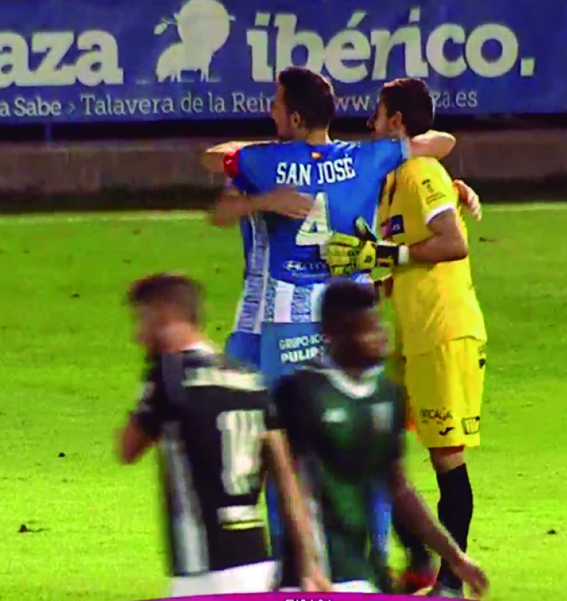 Segundo triunfo consecutivo del CF Talavera