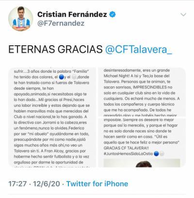 FÚTBOL | Siguen los abandonos en el CF Talavera