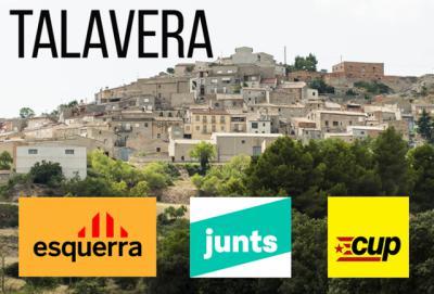 ELECCIONES   Los talaveranos votaron mayoritariamente por ERC, Junts y la CUP