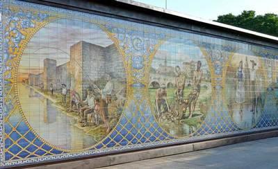 Talavera tendrá un tercer mural cerámico dedicado a Las Mondas