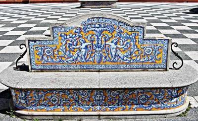 El Ayuntamiento restaurará la cerámica de la plaza del Pan
