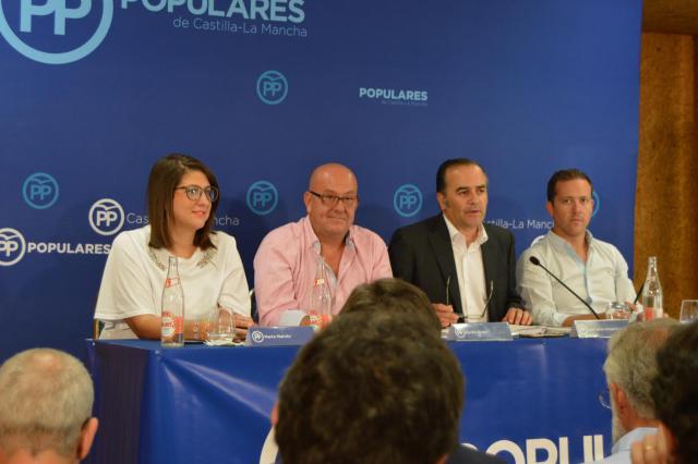 Comité Ejecutivo Provincial del PP de Toledo presidido por José Julián Gregorio