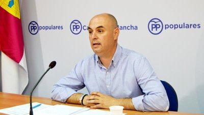 """José Jaime Alonso denuncia que """"la actitud sumisa"""" de Page con Sánchez """"está perjudicando a Castilla-La Mancha y España"""""""