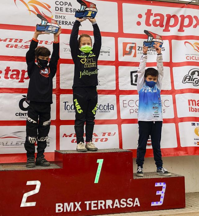 BMX | Gonzalo Corrochano gana el bronce en la copa de España disputada en Terrassa