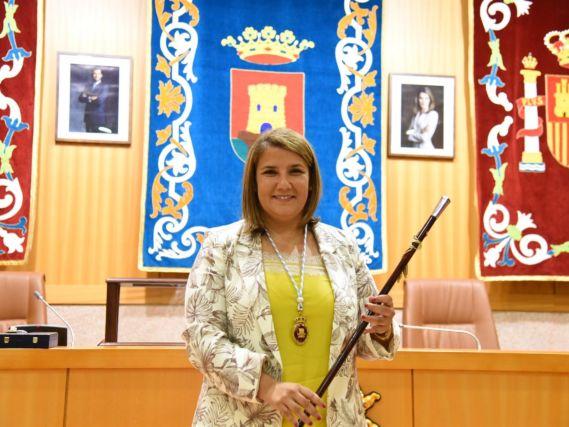 Tita García en el pleno de investidura | Archivo