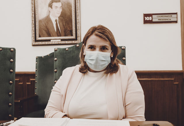 Tita García en una foto de archivo