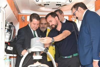 La flota del transporte sanitario terrestre para la provincia de Toledo se moderniza