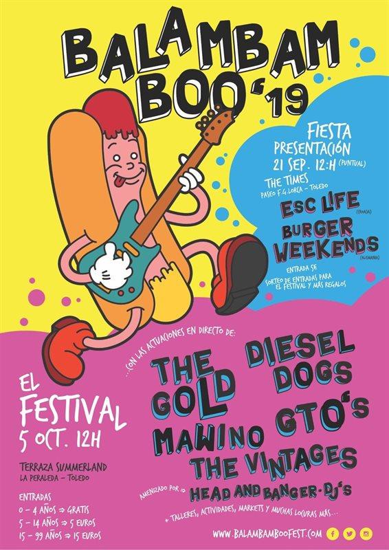 En una nueva edición del Balambam Boo el 5 de octubre en Toledo