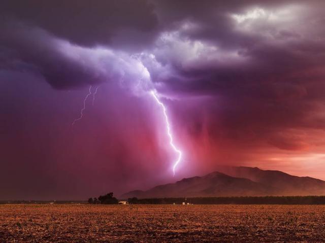 Alerta por lluvias intensas y fuertes tormentas durante el fin de semana