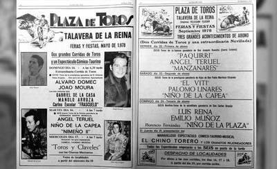LA VOZ DEL RECUERDO. Los carteles de toros del año 1978 en Talavera