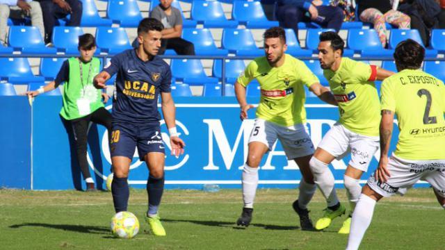 Derrota matinal del CF Talavera en Murcia.