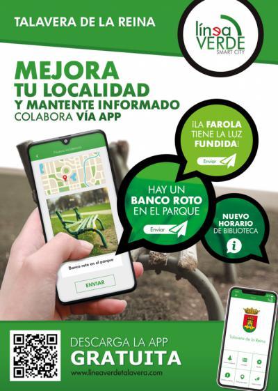 Se amplían los servicios de la App 'Línea Verde'