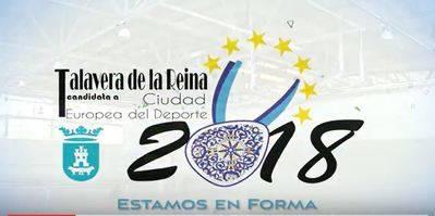 VÍDEO. Talavera presenta su candidatura como Ciudad Europea del Deporte 2018