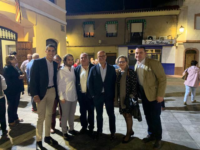 Tirado y Bravo recalcan el compromiso del PP con el sector vitivinícola