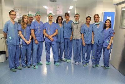 Cirujanos de toda España se forman en el Hospital de Toledo para la extracción de cálculos biliares