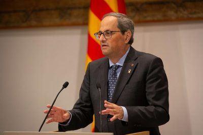 El president de la Generalitat | Foto: Europapress