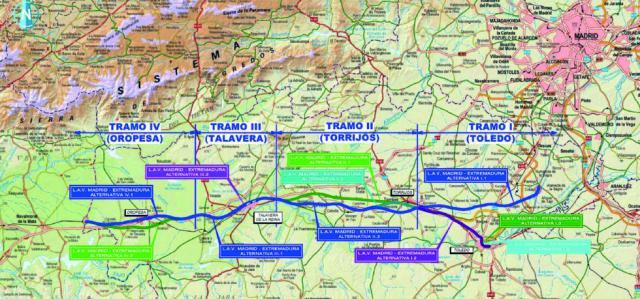TREN | Los empresarios extremeños también piden la electrificación de la línea Talavera-Madrid