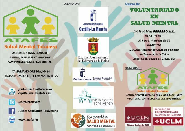 Curso de Voluntariado en Salud Mental
