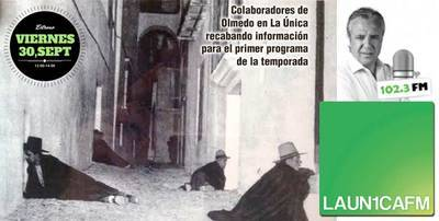 Este viernes vuelve Olmedo en La Única, desde las 12:00