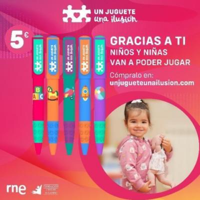 SOLIDARIDAD | 'Un juguete, una ilusión' donará más juguetes este año en España