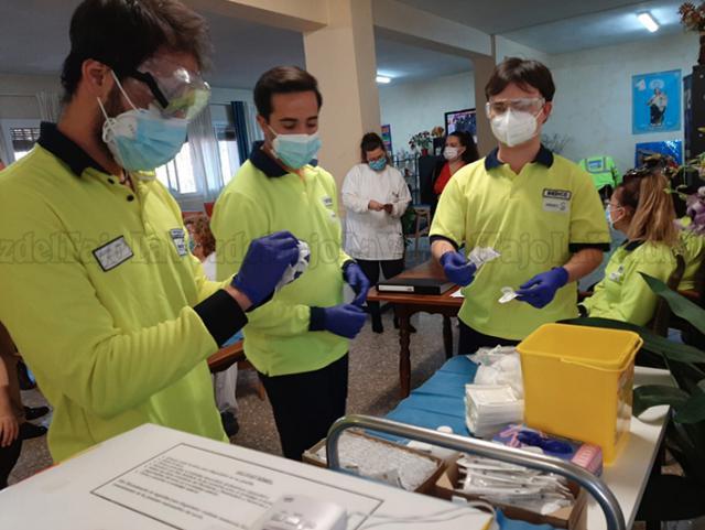 COVID | Talavera, pionera de toda CLM en completar la vacunación en residencias de mayores