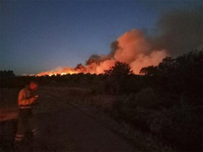 ARDE LA VERA | Declarado un nuevo incendio en la localidad extremeña de Valverde