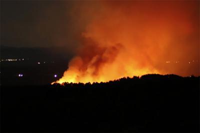 VIDEO | Así se está quemando la zona de Valverde de la Vera (Cáceres)