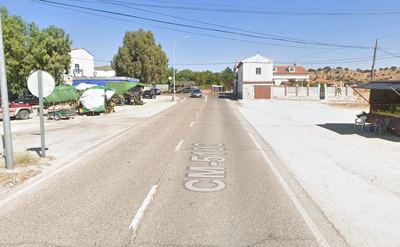 Está es la zona, conocida como 'los mesones', donde se produjo el tiroteo.