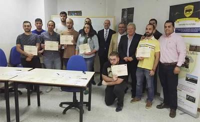 Grupo Vettonia entrega sus certificados de profesionalidad
