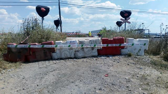 TALAVERA | ADIF corta el paso a nivel del Camino Las Torres con revuelo vecinal