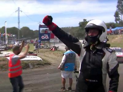 El talaverano Víctor Alvarez gana en Galicia y lídera del Nacional de Autocross